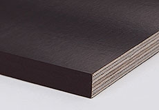 Фанера березовая 35 мм, ФСФ, ламинированная, 2500*1525 мм - F/F (гладкая/гладкая)